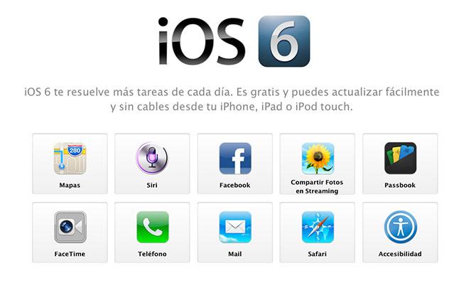 Buscar mi iPhone con soporte para iOS 6 3