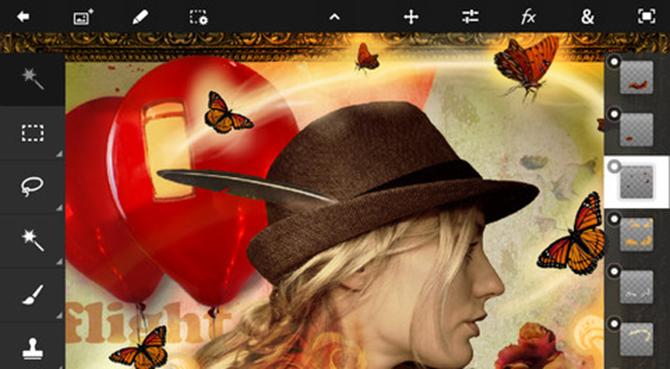 Adobe muestra avances de la nueva interfaz de Photoshop CS6 4