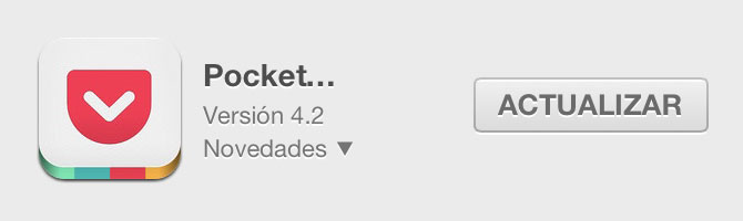 Pocket para iPhone