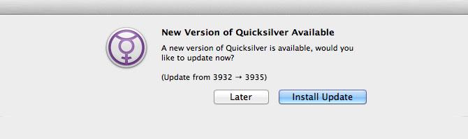 Quicksilver para Mac OS X