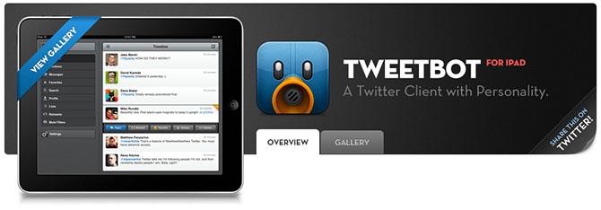 Tweetbot para iPad con descuento por unos días y compatible con iOS 6 1