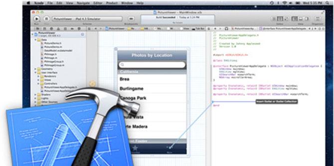 Xcode 4.5 con SDKs para OS X Mountain Lion y iOS 6 1