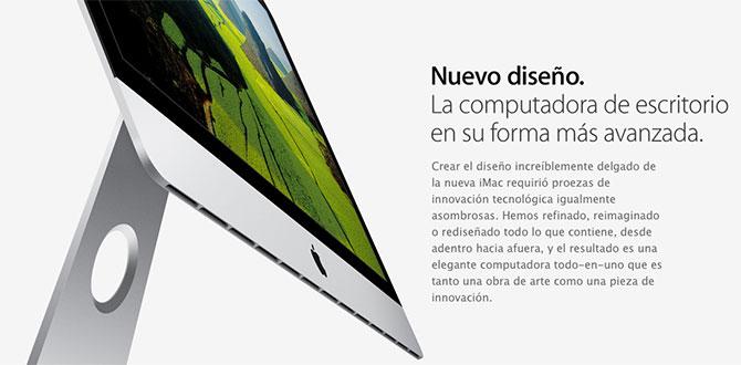 Nueva iMac 2012 más delgada con nueva arquitectura LCD 1