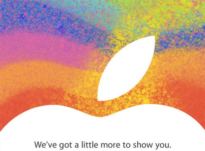 Evento Apple el 23 de Octubre del 2012 para presentar el iPad mini 6