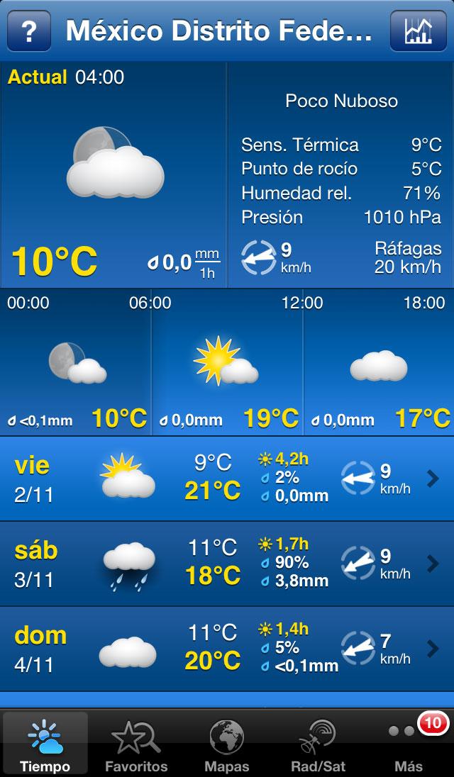Weather Pro 18