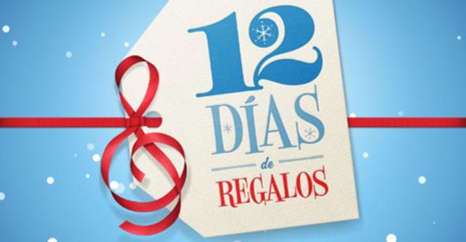 12 días de regalos de iTunes 2012 tambien disponible para México 10