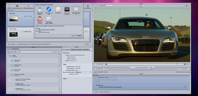 iMovie 11 no permite usar los nombres de los estudios Cinematográficos 3