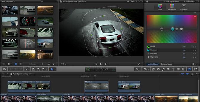 iMovie 11 no permite usar los nombres de los estudios Cinematográficos 1