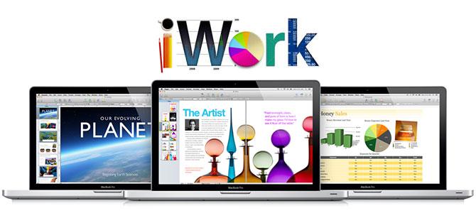 Como activar el soporte de alta resolución en iWork '09 1
