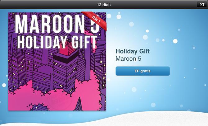 Maroon 5 Moves like Jagger y One More Night, primer regalo en la App Store 1