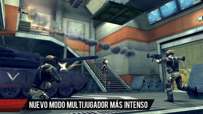 Modern Combat 4: Zero Hour para iPhone y iPad 1