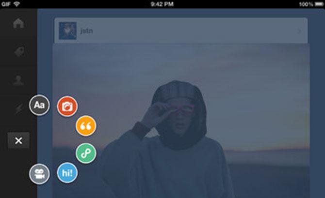 Tumblr para iOS