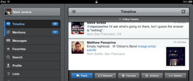 Twitter para Mac 3