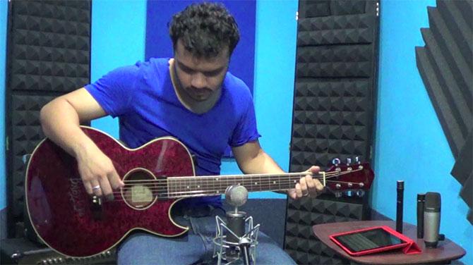 Home Recording - Grabación de Guitarra Acústica