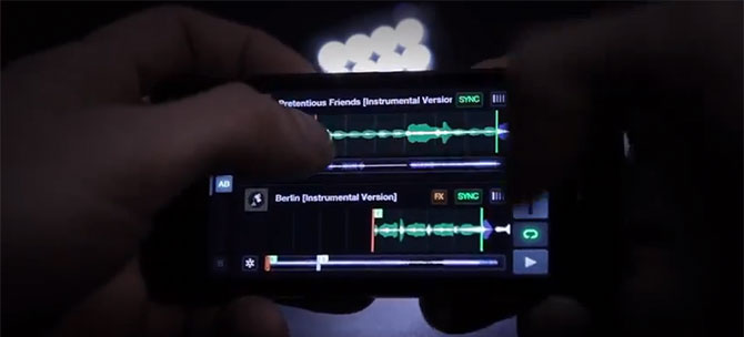 Traktor DJ para iPhone y iPad