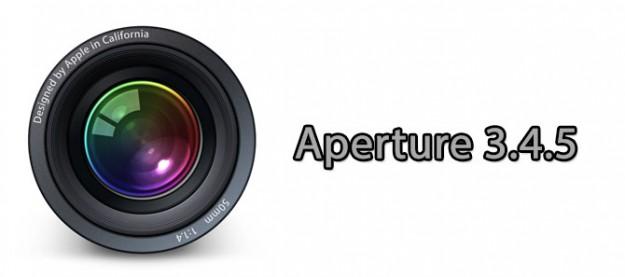 Aperture 3.4.5