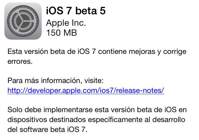 Descarga iOS 6 beta 3 1