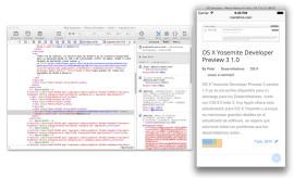 Inspeccionar web en iOS