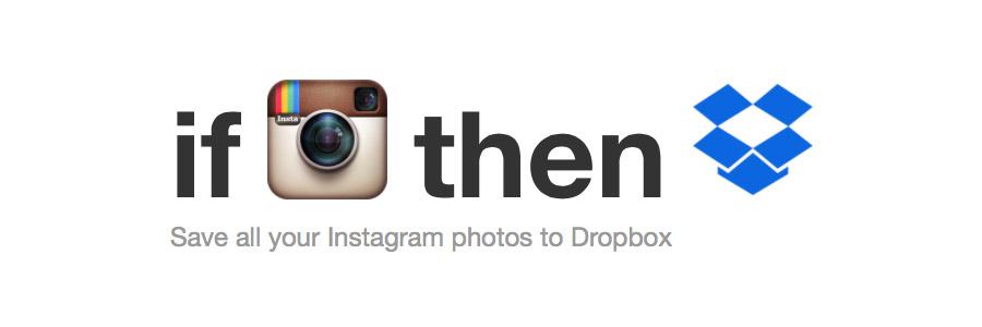 Instagram en Dropbox