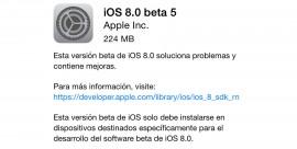 iOS 8.0 beta 5