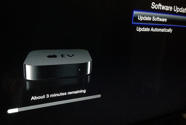 Actualización Apple TV