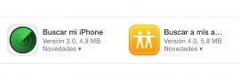 Buscar amigos y iPhone