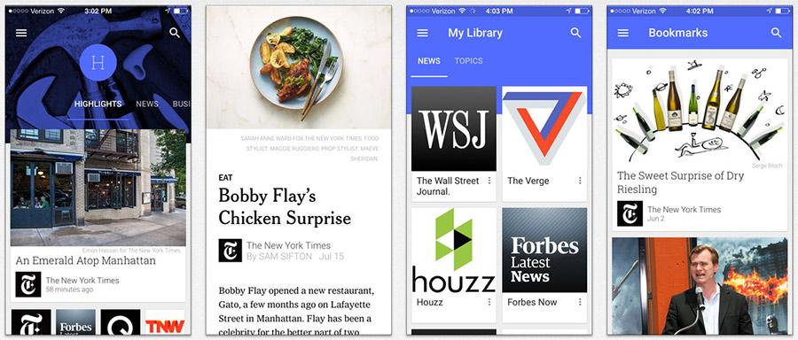 Google Play Kiosco para iPhone y iPad
