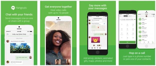 Hangouts para iOS
