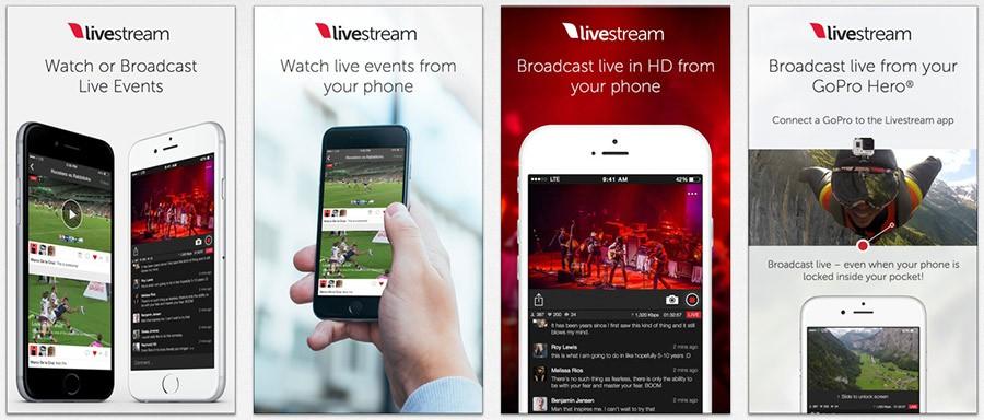 Livestream para iOS