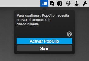 Instalar PopClip