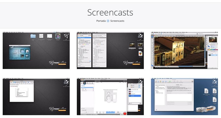 Screencasts Apple