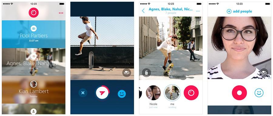 Skype for Business llega a iOS 4