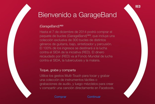 GarageBand RED