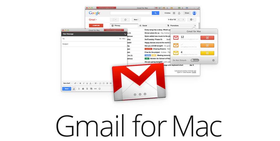 Gmail para Mac