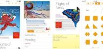 Keynote, Numbers y Pages