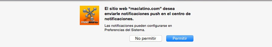 Notificaciones maclatino