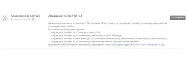 OS X Yosemite 10.10.1