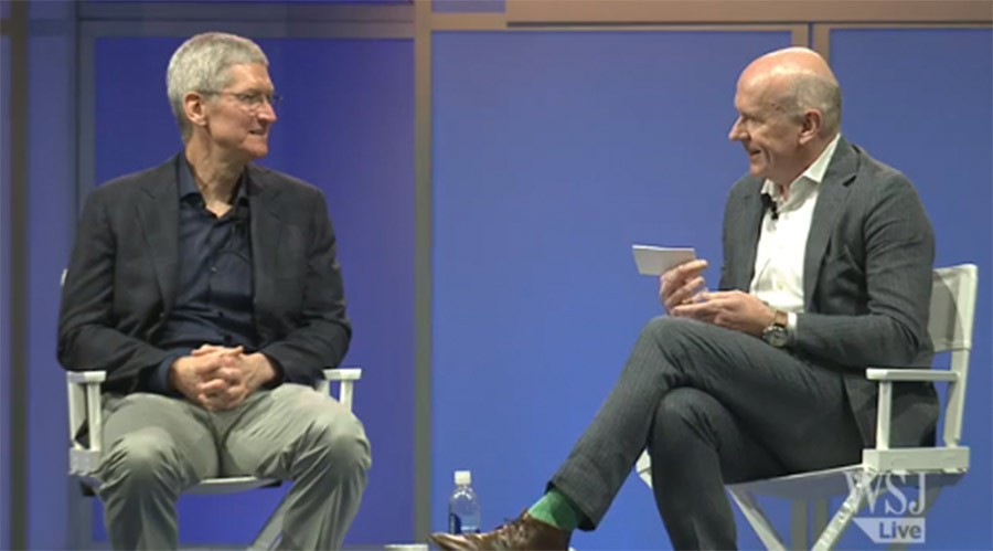 Entrevista a Tim Cook por el Wall Street Journal sobre Apple Watch y Apple Pay 1