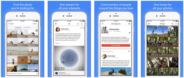 Google+ para iOS