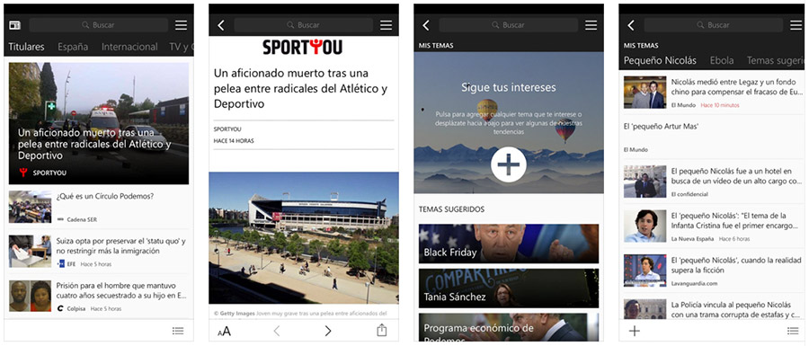 MSN Noticias para iPhone y iPad