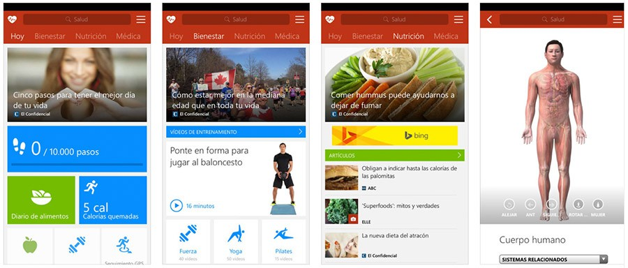 MSN Salud y Bienestar para iPhone y iPad