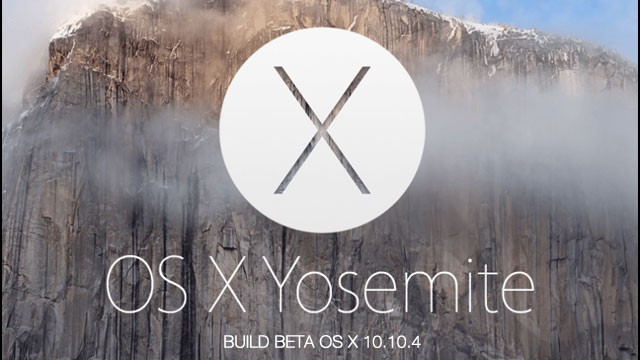 Disponible Tercera Beta OS X 10.10.4 1