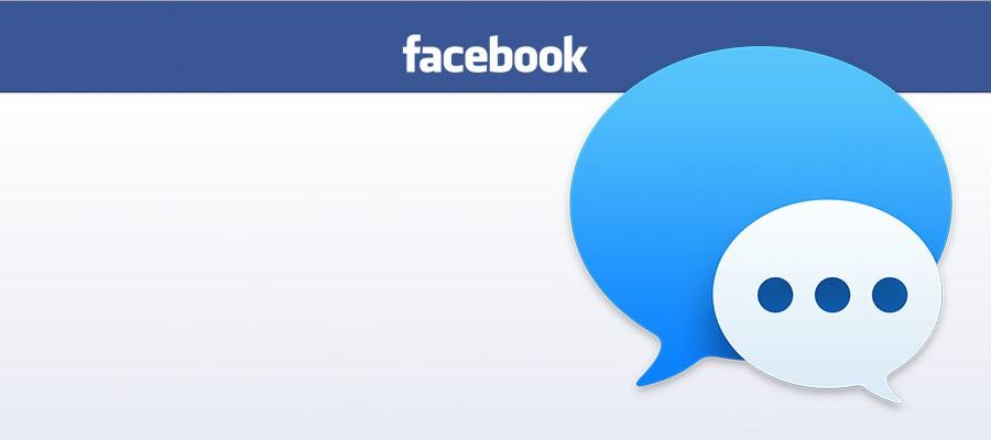 Facebook Messenger en Mensajes.