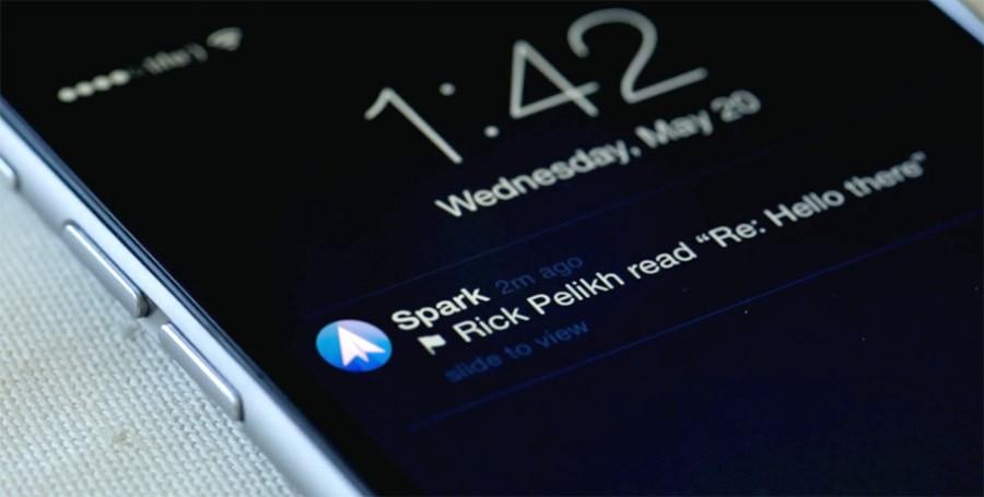 Spark para iPhone