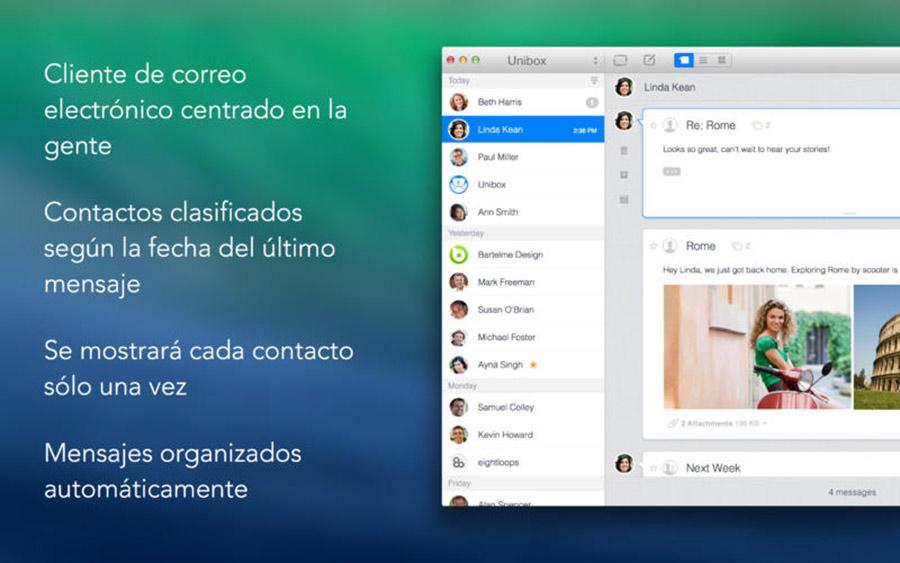 Unibox para Mac