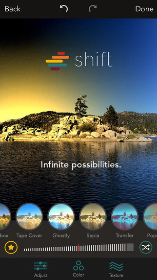 Shift, una excelente app para retocar fotos 10