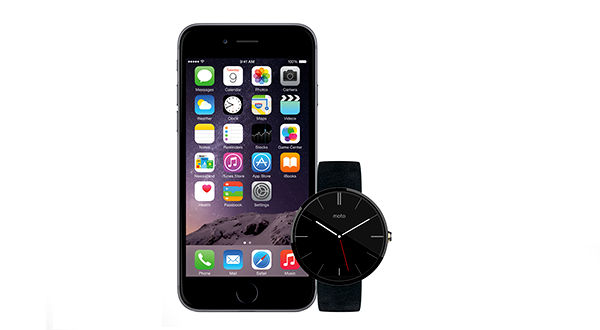 Android Wear ya ofrece soporte para iPhone 1