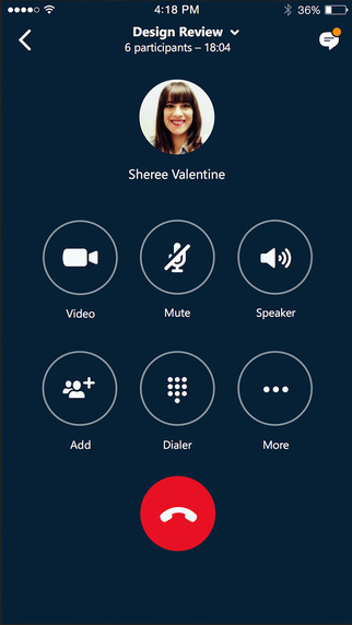 Skype for Business llega a iOS 1