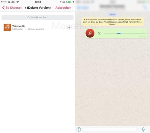 Whatsapp permitirá compartir canciones 1