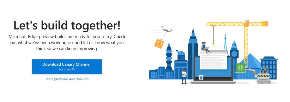 Microsoft Edge preview